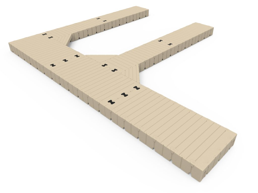 F Shape Dock 30 Long X 25 Wide with 40 Finger Docks C ISO 1024x768 1