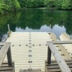 Pond dock 11