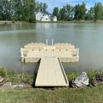 Pond dock 14