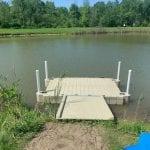 Pond dock 2