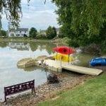 Pond dock 5