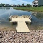 Pond dock 6