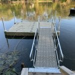 Pond dock 7