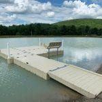 Pond dock 9